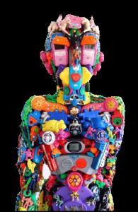 scultura-materiale-riciclo
